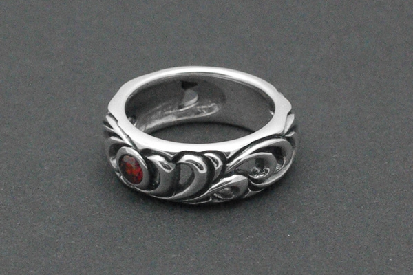 Bandring Flora Gothic-Ring